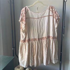 Urban Outfitters baby doll dress / cover up
